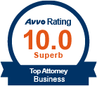AVVO Top Business Law Attorney