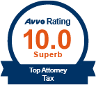 AVVO Top Tax Law Attorney